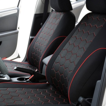 Gift Polyester Hexagon Style Auto Car Accessories Interiors Seat Covers & Support - intl - 3