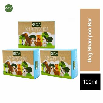 Giga Dog Shampoo Bar 100g Set of 3