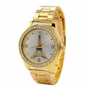 Glamorosa Eiffel Tower Watch In Gold - 2