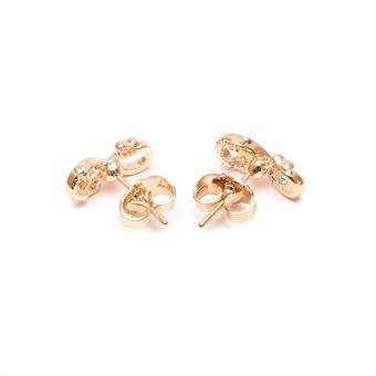 Glamorosa Loving Infinity Heart Stud Earrings (Gold) Buy 1Take 2 - 3