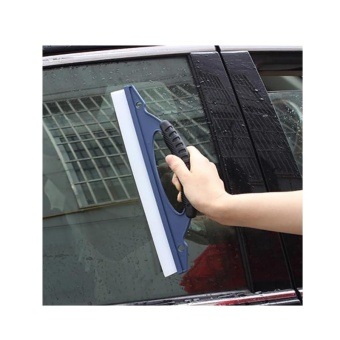 Glass Window Wiper Soap Cleaner Squeegee Shower Bathroom Mirror CarBlade Brush - intl