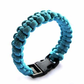 GO360 Emergency Paracord Bracelet Teal