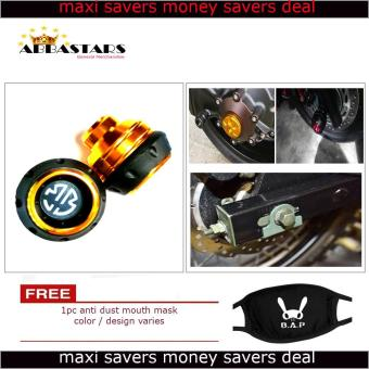 Gold Brembo Motorcycle Axle Nut Cover Axel Nut Universal Cap Modified for Kawaski Bajaj Rouser 200NS