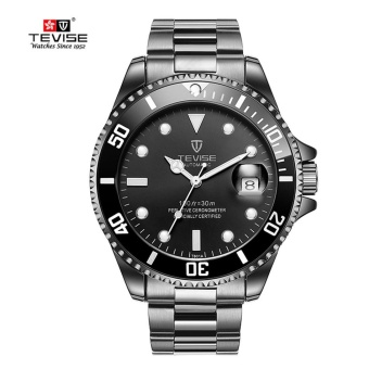 Green Men Watches TEVISE Automatic Mechanical Watch Luxury BrandWaterproof Luminous Men Watch Calendar Clock Relogio Masculino -intl