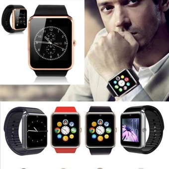 GT08 Bluetooth Smart Wrist Watch SIM Phone Mate for iPhone IOS Android Samsung