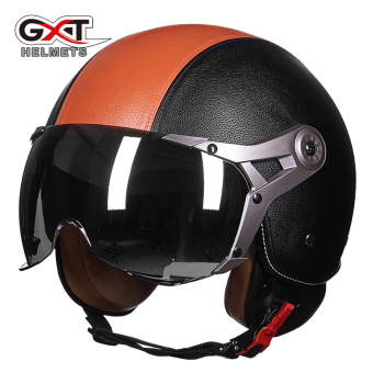 Gxt motorcycle helmet half-electric car safety cap