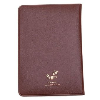 Hang-Qiao Fashion New Passport Holder Travel Passport Cover CardCase Brown
