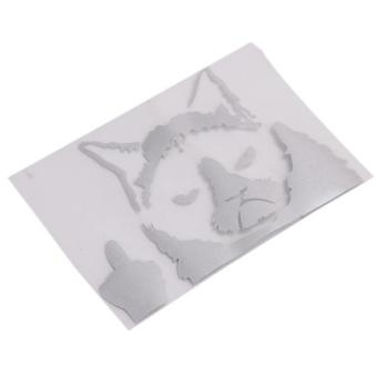 Hang-Qiao Grumpy Cat Funny Car Stickers Decals White - picture 2