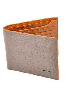 Hang-Qiao PU Leather Wallet (Light Brown) - picture 2