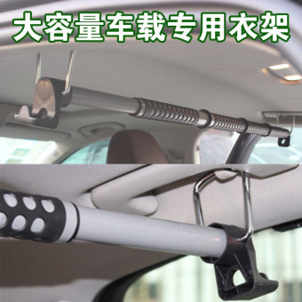 Hanger multi-functional retractable car mounted car accessories