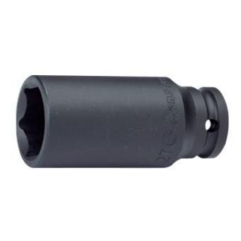 "Hans Tools 88300A-1-7/16inch 1"" Drive 6 Points Deep Impact Socket - SAE (Black)"
