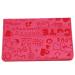 Hanyu Cartoon PU Passport Wallet Fuchsia - picture 2