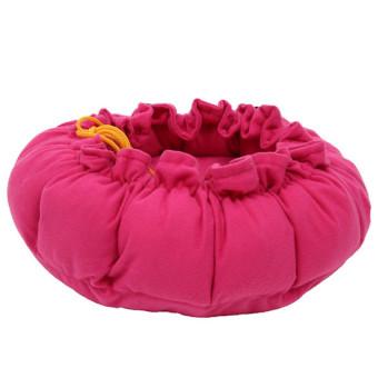 Hanyu Pet Cat Dog Beds House Kennel Nest Pad Mat (Rose) - 3