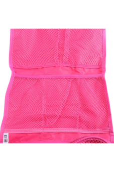 Hanyu Women Foldable Cosmetic Bag Rose Red - picture 2