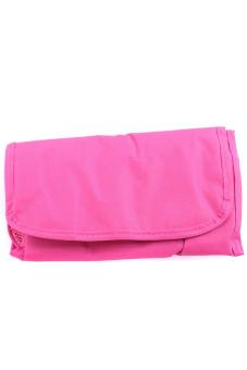 Hanyu Women Foldable Cosmetic Bag Rose Red