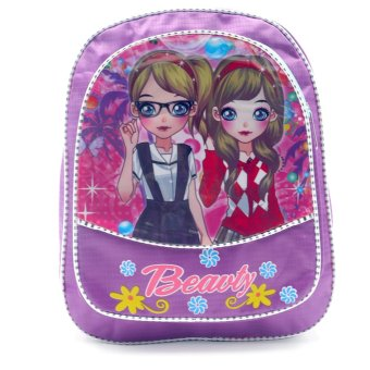 HAPPY KIDS Trendy Cute Girl Kids Backpack Outdoor Bag (GirlsDesign)