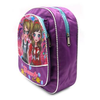 HAPPY KIDS Trendy Cute Girl Kids Backpack Outdoor Bag (GirlsDesign) - 2