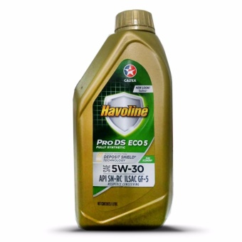Havoline(R) Pro DS Fully Synthetic Eco 5 SAE 5W-30 1Liter Motor Oil