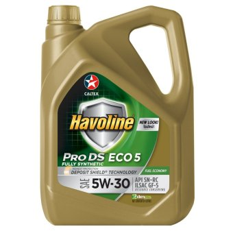 Havoline® Pro DS Fully Synthetic Eco 5 SAE 5W-30 4 Liters Motor Oil