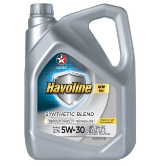 Havoline(R) Synthetic Blend SAE 5W-30 4 Liters Motor Oil