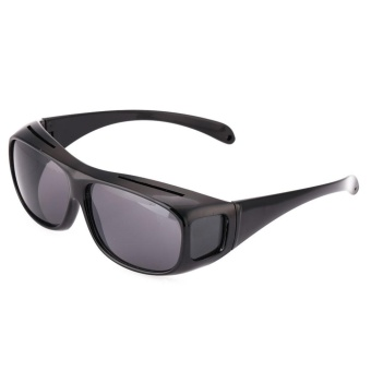 HD Yellow Lens Polarized Sunglasses Night Vision UV400 Glasse For Driving Sports - intl - 3