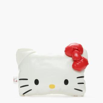 Hello Kitty Girls Red Ribbon Headrest Pillow