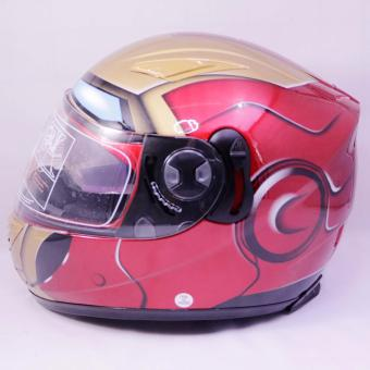 Helmet GDR A922-Red Ironman 1870 (SP 9211-296-Red Ironman 1870) Price Philippines