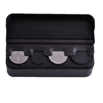 HengSong Auto Change Coin Case Organizer (Black) Price Philippines