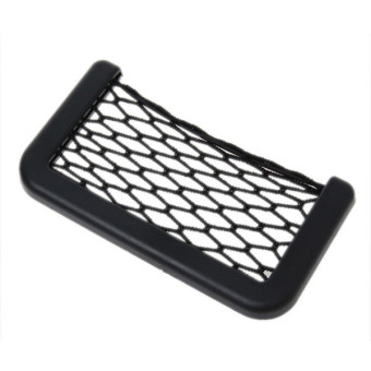 Hengsong Car String Storage Holder Pocket Net Mesh Bag (Black) - picture 2