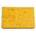 HengSong Cartoon PU Passport Wallet Yellow - picture 2
