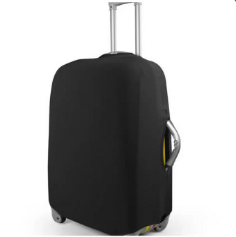 HengSong Solid Elasticity Luggage Protective Suitcase Covers S(Black) - intl