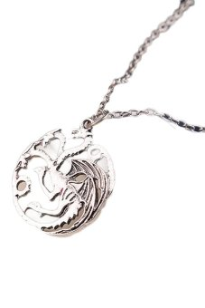 Hequ Film Game Of Thrones Same Style Necklace (Silver) Price Philippines