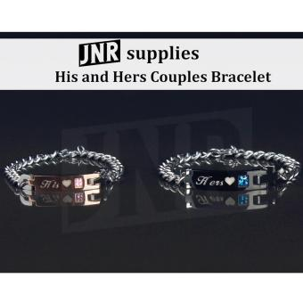 Her King and His Queen Couples Bracelet