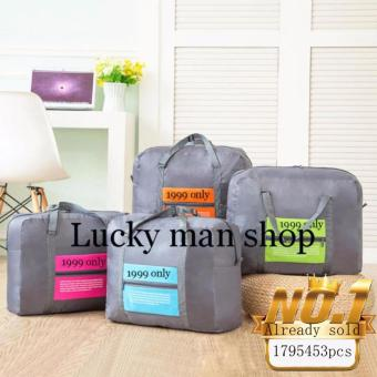 Hermes% 3 in 1 BIG Waterproof Nylon Folding Foldable Home TravelPackage Unisex Storage Bag Multifunction Dufful Clothes OrganizerStorage, Sports Gear Gym Price Philippines