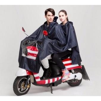 High Quality Adults Motorcycle Cycle Scooter Waterproof Double Rain Coat