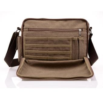 High Quality Multifunction Men Canvas Bag Casual Travel Bolsa Masculina Men's Crossbody Bag Men Messenger Bags - 2
