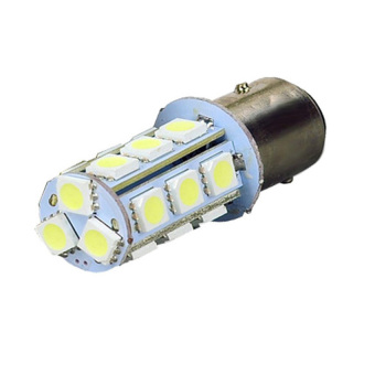 HKS 10PCS LED Double Contact Car Stop Lamp Turn Light Bulb - intl