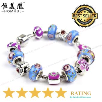 Homhul Authentic - 2017 DIY Bead Bracelet,High Quality Fashion Bracelet Charms (Pandora Copy) HML 06