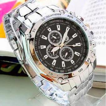 HONG KONG ORLANDO Stainless steel Waterproof Quartz Luxury Men Wrist Watch Black Price Philippines