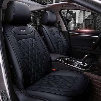 HOT new, leather car cushion / seat cover / general car cushion(black) - intl Price Philippines