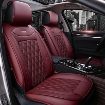 HOT new, leather car cushion / seat cover / general car cushion(red) - intl Price Philippines
