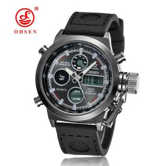 Hot Selling Original Famous Brand OHSEN Digital Sport Mens Watch Male Clock Nylon Band Fashion Diving Wristwatches For Men Gift
