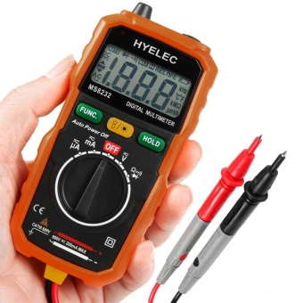 HYELEC MS8232 Non-Contact Mini Digital Multimeter DC AC Voltage Current Tester - intl