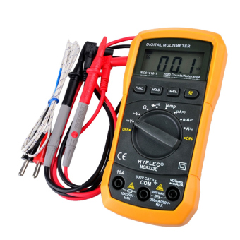 HYELEC MS8233E LCD Digital Meter AC DC Ammeter Voltage MultitesterTester Price Philippines