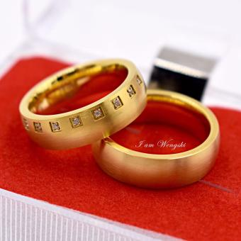 I am Wengski Ibarra Couple Wedding Ring (Gold)
