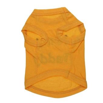 I Love Mommy Letter Backing Dog Cat Pet Vest For Backing Clothes -Orange L - intl - 2