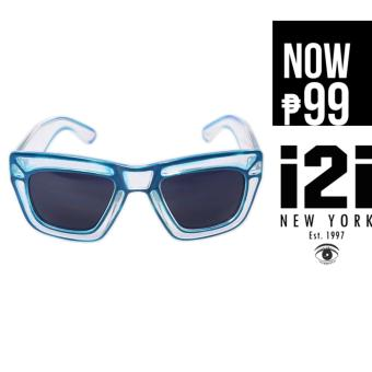 i2i New York Aqua Sunglasses (Blue)
