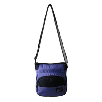 ILLUSTRAZIO High Density Sling Bag (Purple Black)