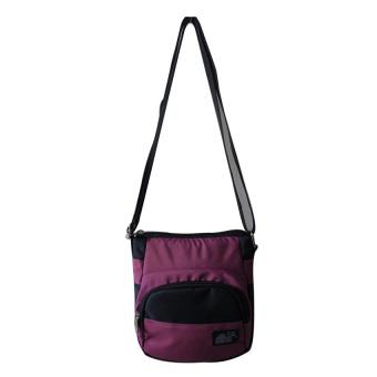 ILLUSTRAZIO High Density Sling Bag (Red Black)