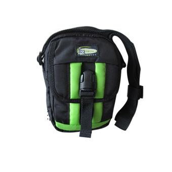 ILLUSTRAZIO High Density Utility Sling Bag (Black Green)